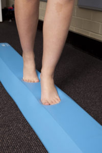 Foot knee and hip exercises